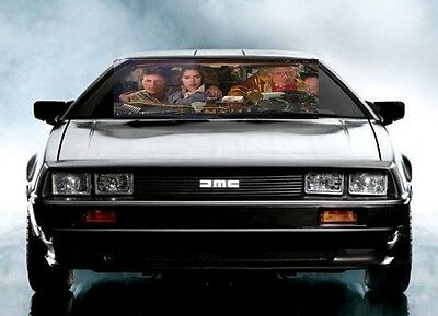 Back to the Future Sunshade windshield Banner !