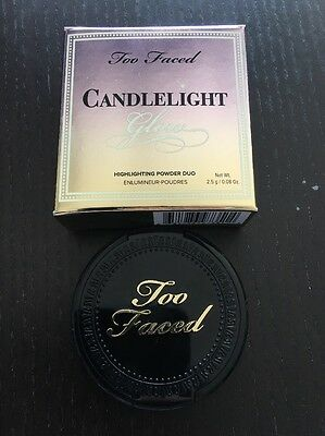 TOO FACED CANDLELIGHT GLOW DUO ENLUMINEUR POUDRE - ROSY GLOW 2,5g Miniature