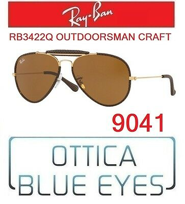 5439bd4fbc Occhiali sole RAYBAN RB3422Q 9041 OUTDOORSMAN CRAFT Sunglasses Ray Ban  AVIATOR