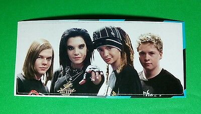 "TOKIO HOTEL GROUP BAND PHOTO HAT POINTING MUSIC SMALL 1.5""x3.5"" STICKER"