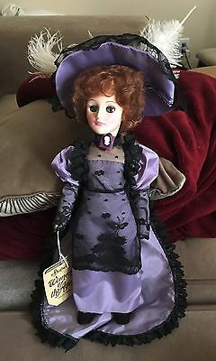1984 Effanbee Doll Lillian Russell 'women Of The Ages'