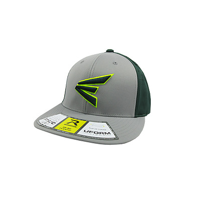 Easton Hat by Richardson (PTS30) Grey/Dark Green/Grey/Volt/Dark Green LG/XL