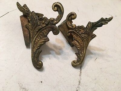 Set Of Cast Brass Or Bronze French Slate Mantle Clock Feet