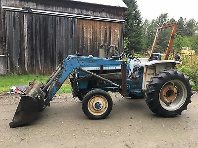 Ford 1000 tractor with loader - 2wd in Vermont  - on sale!