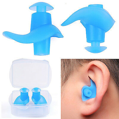 GUT Silicone Adult Anti-Noise Soft Silicone Swimming Waterproof Earplug Ear Plug
