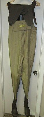 Cabela's Three Forks 420 Denier Featherlight Uninsulated Boot Foot Wader Size 8