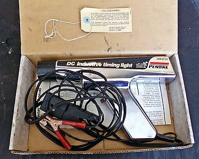 Sears Penske 244.2138 DC Inductive Timing Light, original box with instructions