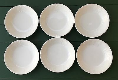 Coalport Bone China England SEVRES Set of 6 Fruit / Dessert Sauce Bowls