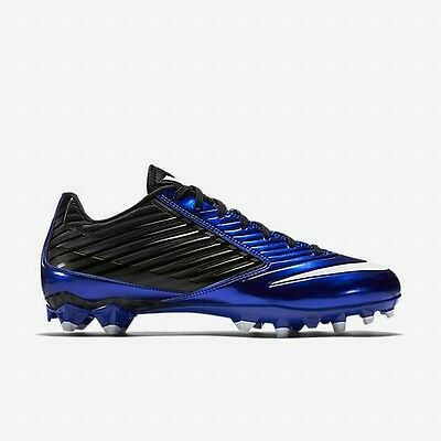 new mens 8 nike vapor speed TD low football/lacrosse cleats royal/black