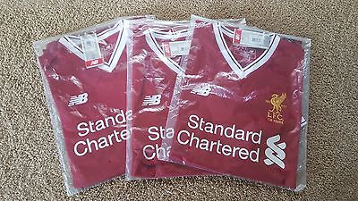 125 Years Liverpool FC LFC Mens Replica Home Shirt  125 Years BNWT