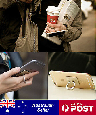 Universal  iRing Ring Holder Finger Grip Stand for Phones or Tablets iPhone iPad