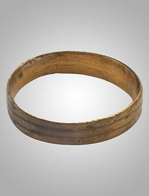 Authentic Ancient Viking  wedding Ring, medieval ring, Size 6 (16.7mm)(Brr1023)