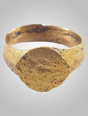 Ancient Viking Warriors Mans Pinky Ring C.866-1067 A.D. Size 8 (19.1mm)