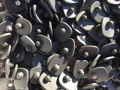 100 pcs Security Tags Retail Clothing Checkpoint Gray EAS Theft Prevention