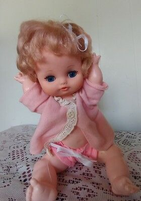 Vintage Eegee DOLL 1960,S 11 INCH