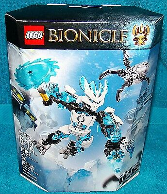New Lego Bionicle Protector of Ice 70782 Factory Sealed - Damaged Box