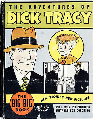 Big Little Book #4055 Dick Tracy (Whitman, 1934) Condition: FN....
