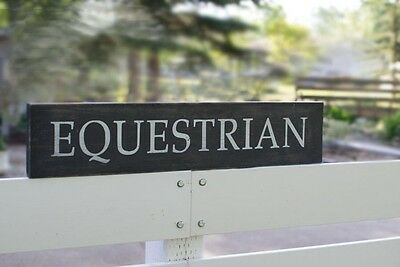Equestrian - Stable -Barn Signs Decor