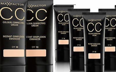 Max Factor CC Colour Correcting Cream SPF 10 30ml VARIOUS SHADES
