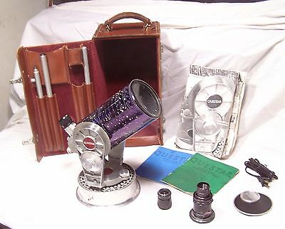 "Vintage Collectible 1965 Questar 3.5"" Telescope Quartz Optics w/ Camera Attachmt"