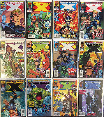 Marvel Mutant-X Complete Set 1-32,Annual 2000,2001 Cyclops X-Men NM comic LOT