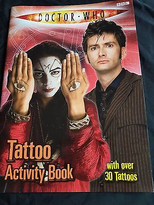 Doctor Who Tattoo Activity Book
