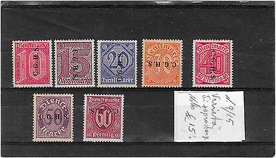 Germany Osterreich Collection used 1925 1930