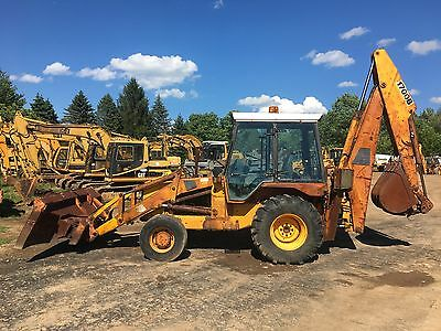 JCB 1700B 4X4 Backhoe Loader Tractor