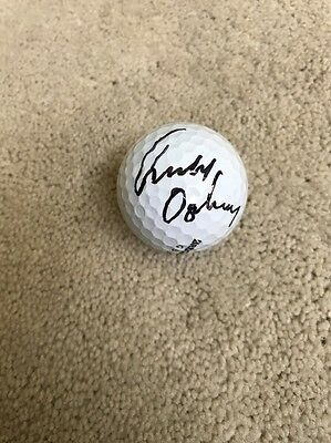 Geoff Ogilvy Signed Autographed Golf Ball Masters