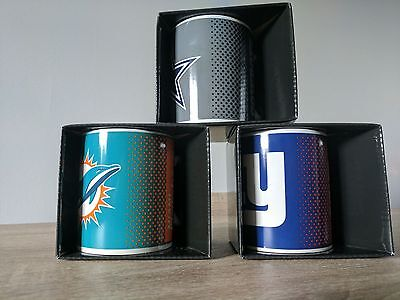 BRAND NEW! Official NFL Mug- Cowboys, Giants & Dolphins