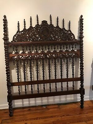 spanish furniture: antique head board