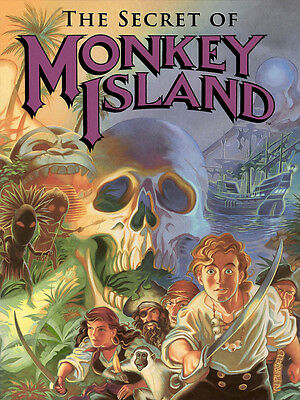 The Secret of Monkey Island - Poster 80x60cm