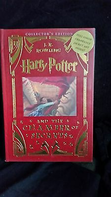 Harry Potter and the Chamber of Secrets Collectors Edition Leather Bound