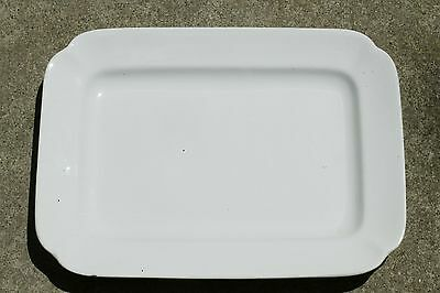 "Large T & R Boote English Ironstone 16"" Rectangle Service Platter 1890-1920's"