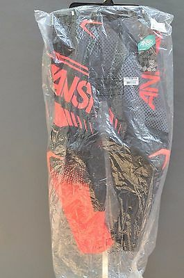 ANSWER RACING SYNCRON MOTOCROSS MX MOTO PANTS BLK/RED/GRY or  BLK/RD/ACID  SZ:36