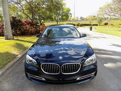 2014 BMW 7-Series  2014 750LI CLEAN CARFAX DRIVER ASSIST PKG NAVIGATION REAR VIEW CAM FL
