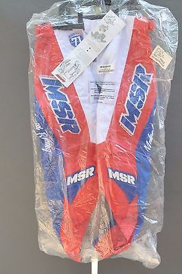 Msr Legend 71 Motocross Mx Moto Pants Size 36/38 Choose Color! + Free Shipping!!