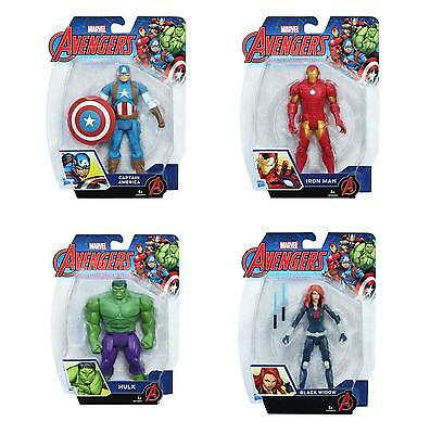 "Avengers 6"" Inch Action Figure (Captain America/Iron Man/Black Widow/Hulk)"
