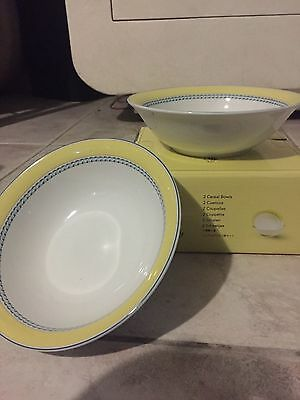 Royal Doulton Blueberry Cereal Bowls- set of 2