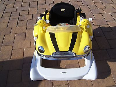 Combi Yellow GT All In One Mobile Entertainer Bouncer Walker Pick-Up Only