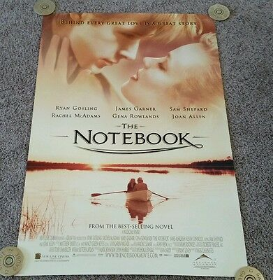 2004 Original THE NOTEBOOK Movie Poster, Intl., 27×40, DS, Rolled, Excellent