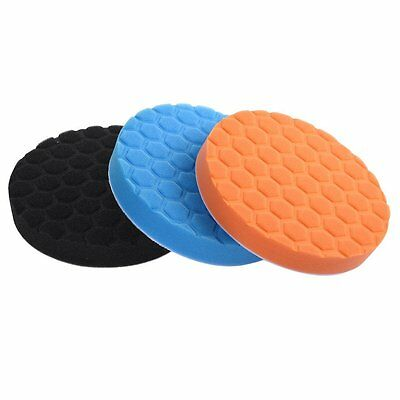 Car Polishing Wash Brush Buffer Pad Kit Buffing Sponge Polishing Pad Kit Set AU