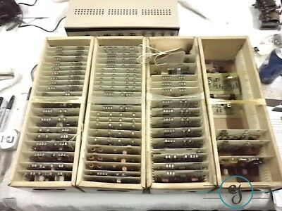 61 Early Nida Tube Electronics Radio Trainer Cards