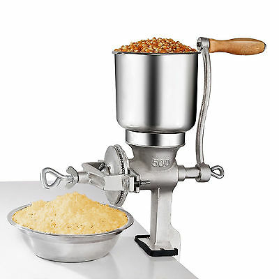 Manual Hand Grains Oats Iron Nut Mill Crank Cast Grinder Corn Coffee Food Wheat