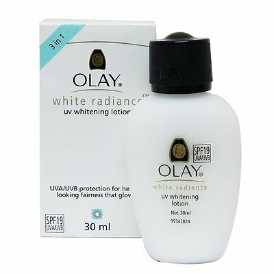 OLAY WHITE RADIANCE 30ml UV WHITENING CREAM LOTION SPF 19 UVA UVB
