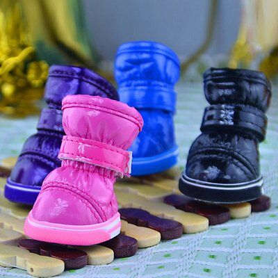 Pet Dog Winter Warm Snow Shoes Puppy Boots Soft Booties Chihuahua Sneakers Shoes