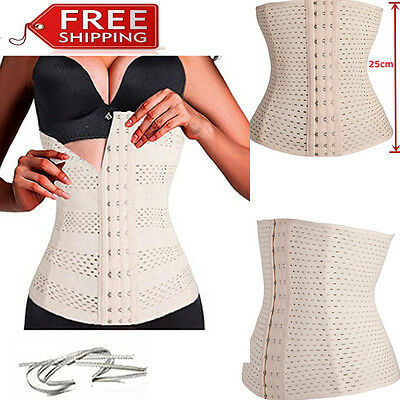 Waist Trainer Corset for Weight Loss Sport Body Shaper Tummy Control Fat Burner
