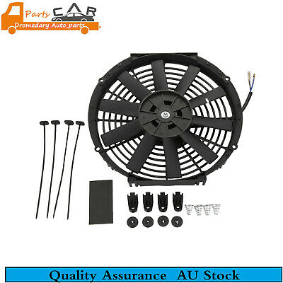 12 inch ELECTRIC RADIATOR Cooling Thermal THERMO FAN Universal W/MOUNTING KITS