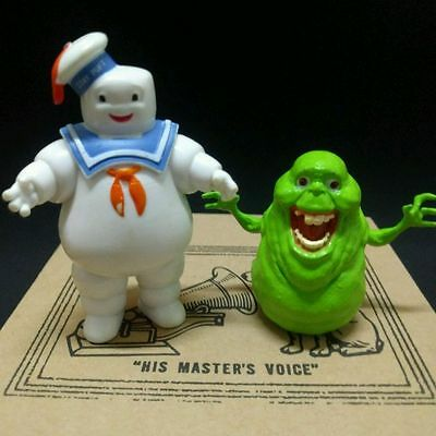 2x Comansi Ghostbusters Marshmallow Man Stay Puft Slimer Collection Figure