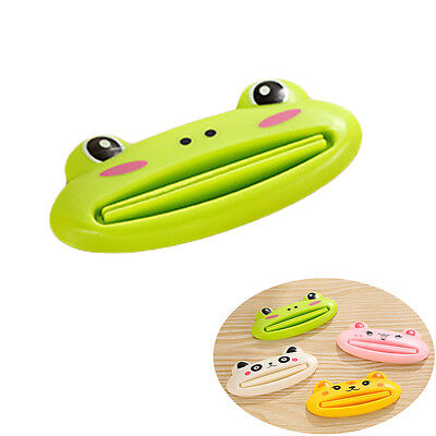 5pc Cute Animal Toothpaste Cosmetic  Tube Squeezer Frog Pig Panda Bear